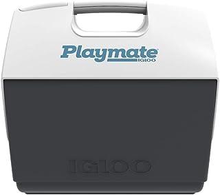 IGLOO Unisex's PLAYMATE ELITE MAXCOLD Cooler, White/Grey, 15.2 Liter