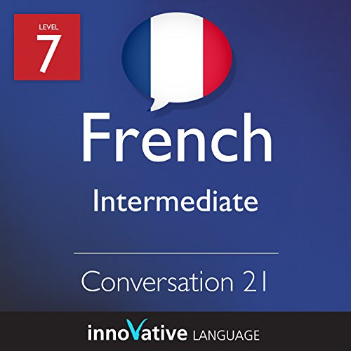 Intermediate Conversation #21 (French) audiobook cover art