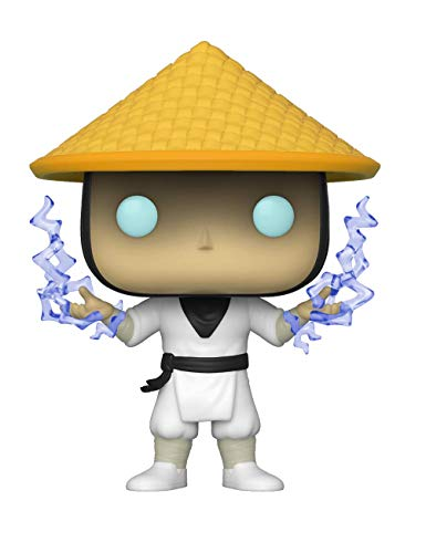 Funko Pop! 45040 Mortal Kombat - Raiden with Lightning – Exclusive Special Edition #539