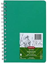 Derwent Academy A5 120 Pages Visual Art Diary, Green