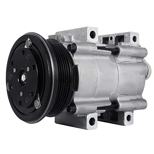 Mophorn CO 101820C (4R3Z19V703AA) 4718100 4718125 Universal Air Conditioner AC Compressor for 90-97 Ford Aerostar/Explorer A/C Compressor 57140 58140 5U2Z19V703BA FOTZ19V703AA