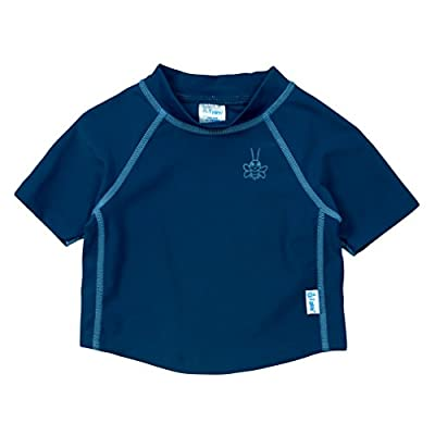i play. by green sprouts Baby & Toddler Short Sleeve Rashguard | All-day sun protection—wet or dry