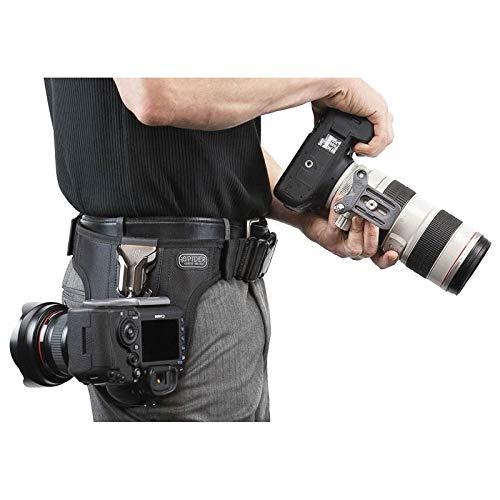Spider Pro v2 Dual Camera System Holster Hüft-Tragesystem für Zwei professionelle DSLR-Kameras - für alle DSLR, auch Profimodelle mit großen Objektiven