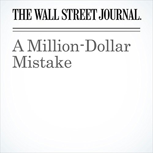 A Million-Dollar Mistake (Unabridged) copertina