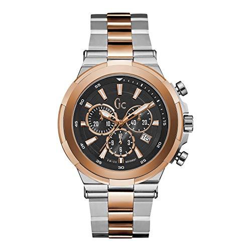 GC Gc Structura Herren-Armbanduhr 44mm Zwei Ton Batterie Y23003G2