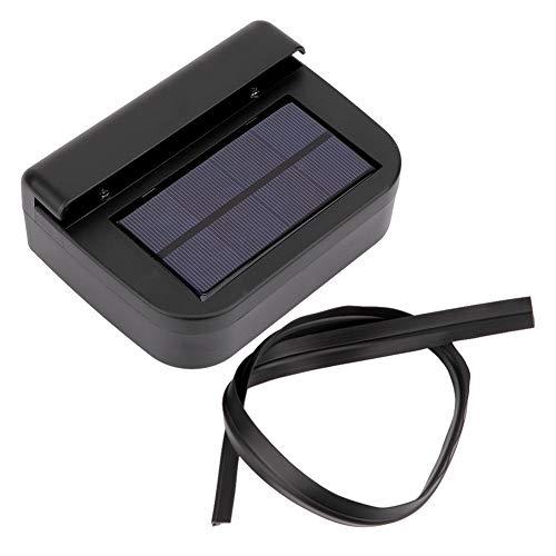 Qiilu auto koelventilator, zonne-energie auto auto ontluchter koeling ventilatiesysteem verwarming uitlaatventilator
