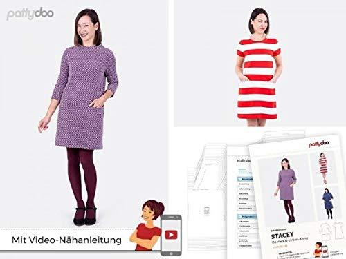 Schnittmuster Pattydoo Damen A - Linien - Kleid Stacey Gr. 32-54 Papierschnittmuster