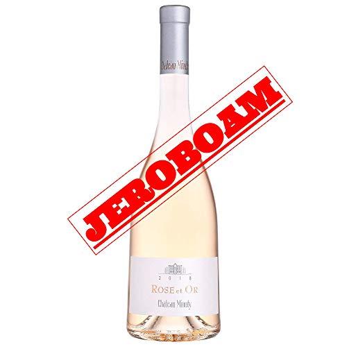 Château Minuty – Jeroboam Rosé et Or – Côtes de provence Rosé 3L