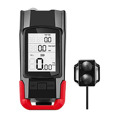Luz Bicicleta, Luces Bicicleta USB Recargable con 4 Modos, IPX4 Impermeable Alta Potencia Luz Delantera Bicicleta y Luz Trasera Bicicleta para Ciclismo de Carretera Seguridad en La Noche,Rojo,Ordinary