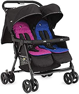 Joie ٍStroller Aire Twin, Pink & Blue