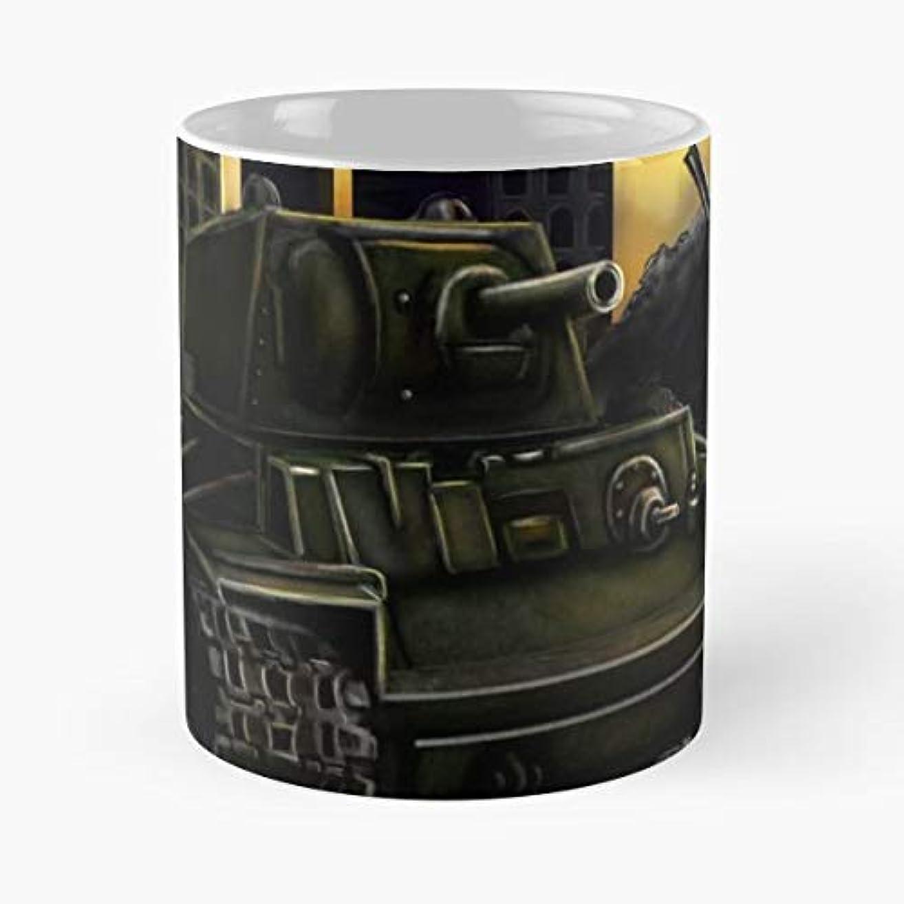 World War Two Russian Soviet Tank - Funny Coffee Mug, Gag Gift Poop Fun Mugs