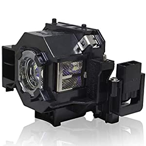 PanPacSight ELPLP42 V13H010L42 Projector Bulb Replacement for EMP-822 EMP-822H EMP-83 EMP-83C EMP-83H EMP-83HE EB-410W 400WE 280, H281B H330B H330C H371A, PowerLite 400W 410W 83+ 83C 822 Lamp