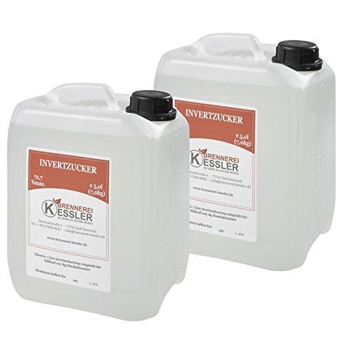 Invertzucker - Flüssigzucker 10 Liter (14kg) 72,7% mas.