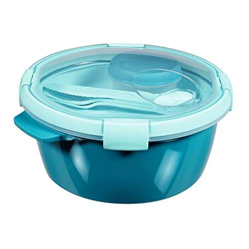 Curver AufbewahrungsschÃŒssel TO GO LUNCH KIT 1,6L blau