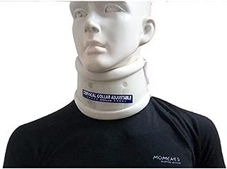 Wonder Care- Rigid Cervical Collar | Plastic Neck Support Brace Adjustable Height Collar Neck Support Brace, Wraps Aligns & Stabilizes Vertebrae - Relieves Pain & Pressure in Spine- C103 - L