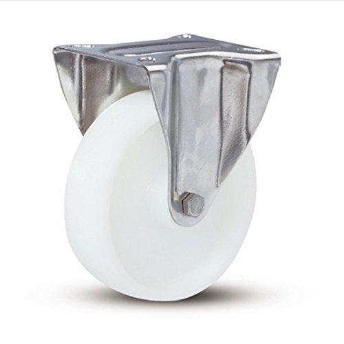 Rolle - Edelstahl Nylon Rollen - Durchmesser 125 mm - Tragkraft 220 kg - Super Qulität - 2 Jahre Garantie