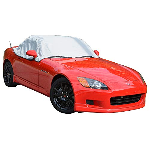 North American Custom Covers Compatible Soft Top Roof Protector Half Cover for Honda S2000