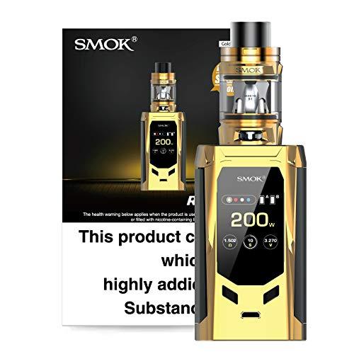 Smok R-Kiss Vape 200 W Full Kit with TFV-Mini V2 Tank (Gold Black) No...