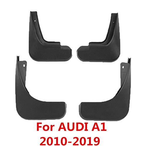 ZAYYL Auto Mud Parafango,per Audi A1 2010-2019, 4 Pezzi Parafango Anteriore Auto paraspruzzi con Vite