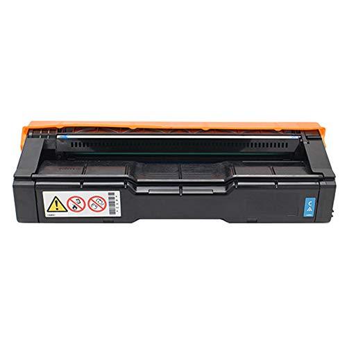 Adecuado para cartucho de tóner de alta calidad C252C Ricoh SP C252HC / C252SF / C252DN cartucho de tinta impresora láser color suministros de oficina impresión 3000 páginas-blue