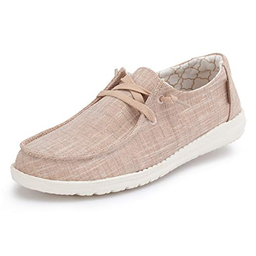 Hey Dude Women's Wendy Sparkling Rose Gold, Size 6