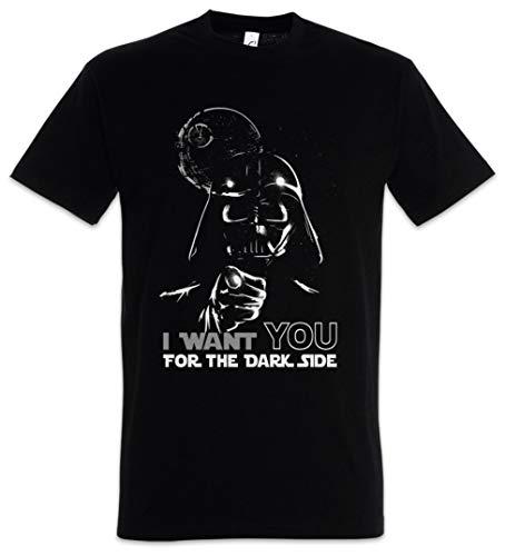 Urban Backwoods I Want You For The Dark Side Camiseta De Hombre T-Shirt Negro Talla 4XL