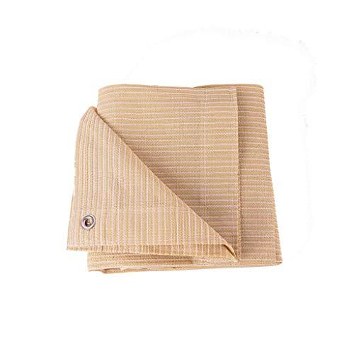DHR-Voiles d'ombrage Ombrage Voiles d'ombrage net for Balcon, Auvents Abri crème solaire anti-UV Pare-soleil à l'ombre en tissu avec des anneaux 90% for les plantes couvre une superficie de serres pla