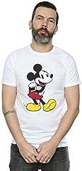Disney hombre Mickey Mouse Classic Mickey Camiseta