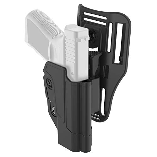 Orpaz 1911 Holster Fits Colt 1911 Kimber 1911 Sig Sauer 1911 and Springfield 1911 (Right Hand, Level 2 Thumb Release Low-Ride Holster)