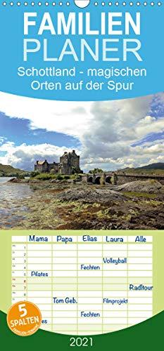 Schottland - magischen Orten auf der Spur - Familienplaner hoch (Wandkalender 2021, 21 cm x 45 cm, hoch)