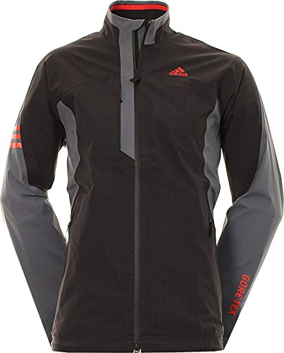 adidas Men's GORE-TEX 2-LAYER WITH STRETCH Jackets, Black,...