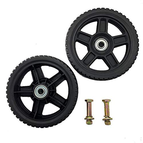 Set of 2 Wheels Kit for Push Mowers (7' Inch)