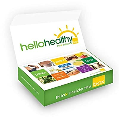 Hello Healthy Box 14-Day Diet Starter Kit for Fast Weight Loss - Low Carb, Low Sugar, Protein Rich Grab 'n Go Single Servings Keto Meals (56 total)