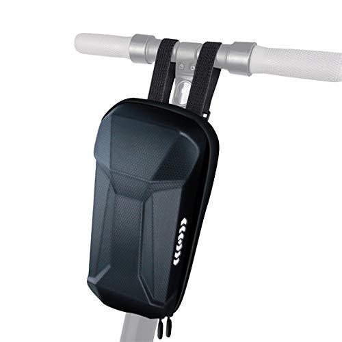 SHINYEVER Bolsas para el Manillar de la Bicicleta Scooter y Patinente Eléctrico para Xiaomi M365 Bolsa Colgante de Tubo Frontal Bolso Ciclismo Bolsa Impermeable con Concha Dura de Gran Capacid