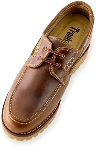 Be Taller 2.75 inches // 7 cm Elevator Shoes with Invisible Insole Height Increasing Shoes for Men Model Adriatico