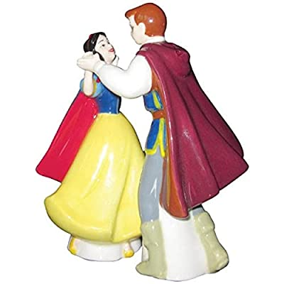 Westland Giftware Life According to Disney Princesses Snow White and The Prince Dance 4-Inch Magnetic Salt and Pepper Shakers from Westland Giftware