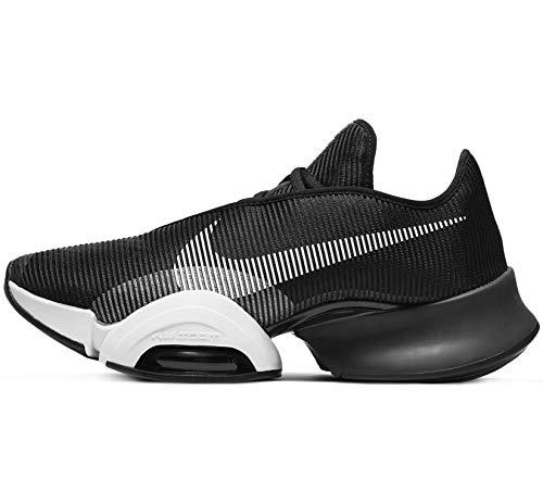 Nike Air Zoom SUPERREP 2, Zapatillas de ftbol Hombre, Black White Black, 44.5 EU
