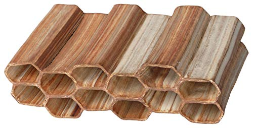 Aquanetta Matrix de 12 à tête hexagonale tuyaux, 6 x 2. Fabriqué à la Main.