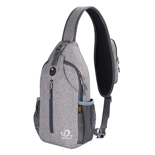 Waterfly Crossbody Sling Backpack Sling Bag Travel Hiking Chest Bag Daypack