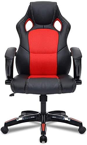 E-Sport Stuhl Spiel Home Office Computer-Schreibtisch-Stuhl und Rennsitze Rotate to Perform hochlehnigen Arbeits 70X70X117CM Kniestuhl