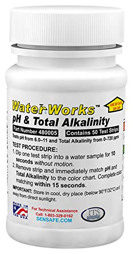 Sensafe ittk14PH und Alkalinität Wasser Teststreifen