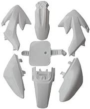 PS01 Dirt Pit Bike 50cc 70cc 90cc 110cc 125cc 138cc Fairings Plastic Body Fairing Kit Parts Honda CRF50 XR50 - White
