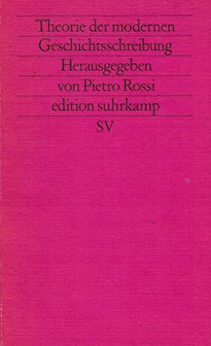 Theorie der modernen Geschichtsschreibung. ( Neue Folge, 390).