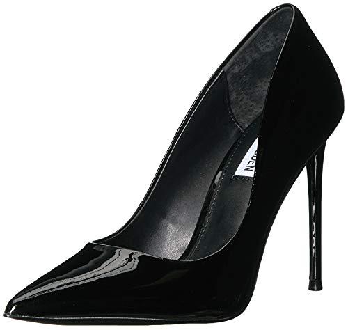 Steve Madden Women's VALA Shoe, Black Patent, 9.5 M US