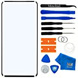MMOBIEL Front Glass Repair kit Compatible with OnePlus 7 Pro 2019 6.67 inch (Black) Display incl Tools