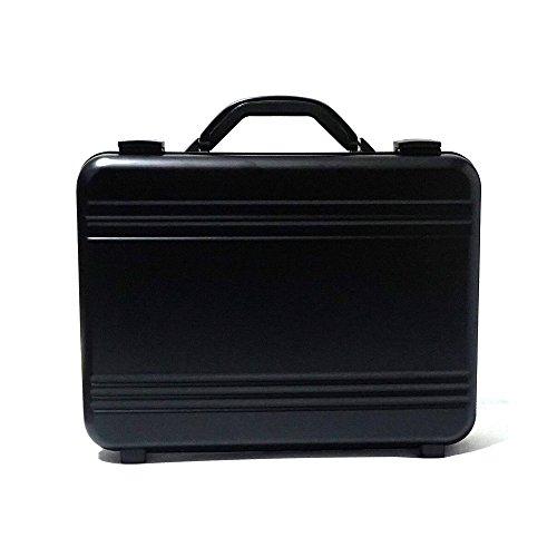 アルミ製 アタッシュケース 色ブラック Mサイズ B4サイズ対応 軽量モデル ノートパソコン収納可能 ビジネスバッグ ブリーフケース PCケース パソコンバッグ