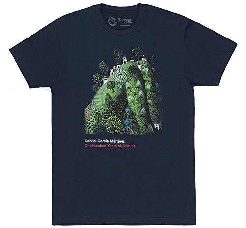【Out of Print】 Gabriel García Márquez/One Hundred Years of Solitude Tee (Navy) X-Large