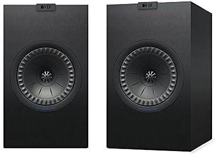 KEF Bookshelf Speaker (Q350 Black)