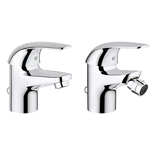 Grohe Start - Eco Grifo de lavabo monomando Ref. 23264000 + Grohe...