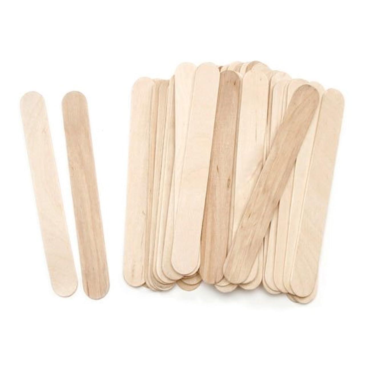 Natural Jumbo Wood Craft Sticks 6